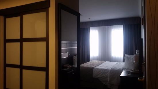 Clarion Hotel Winnipeg: View Of Closet, Full Length Mirror And Bed In  Corner King
