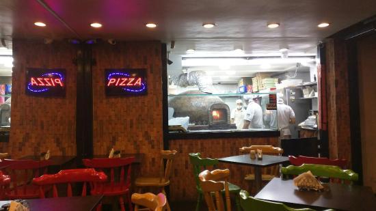 Pizza a la lena