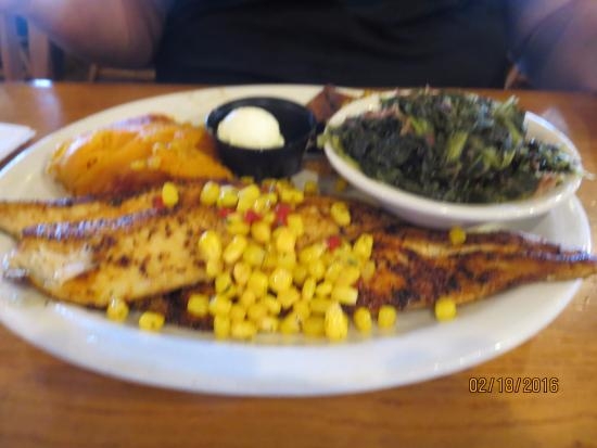 Cracker Barrel Old Country Store: Trout Dinner