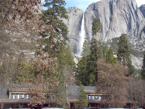 yosemite falls above cedar 02 26 2016 picture of yosemite valley