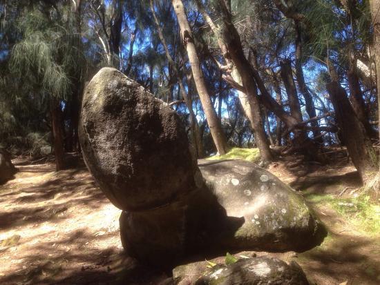 Hoolehua, Hawái: Phallic Rock