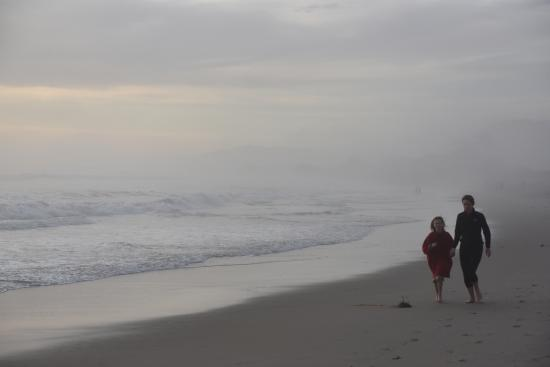 foggy when looking down along the surf picture of carpinteria rh tripadvisor com