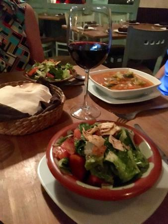 El Jamil: Heathy light dinner