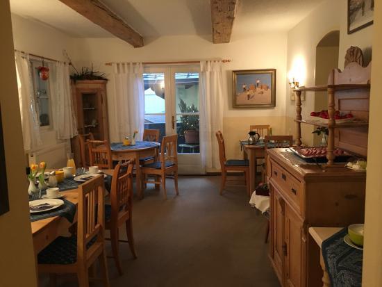 Haus Koller: Frühstücksraum