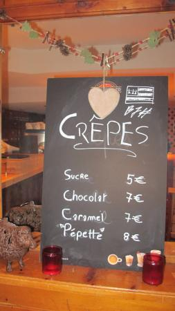 Auberge Saint-Hubert : Mangez des crèpes...