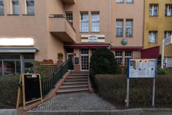Restaurant Pastis: Pastis Restaurant der Eingang