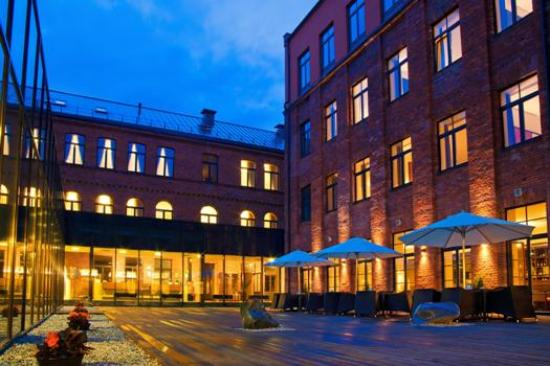 Europa Royale Kaunas: Terrace