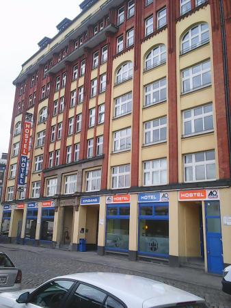 A&O Hamburg Hauptbahnhof: Front View