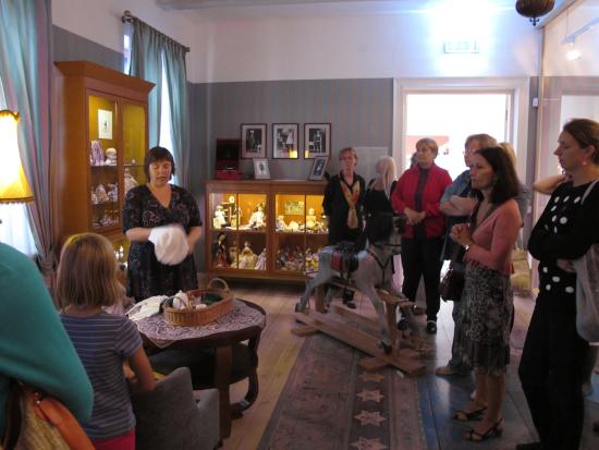 The museums tour for teachers. Tartu Toy Museum.