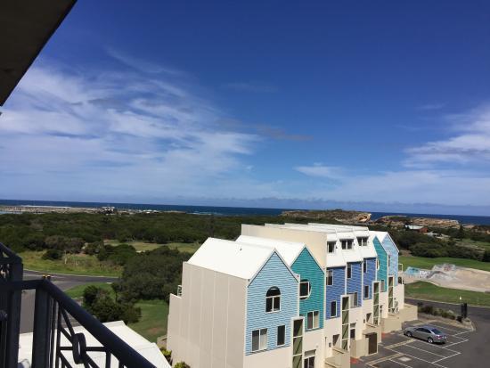 view from 4th floor room balcony picture of deep blue hotel hot rh tripadvisor com au