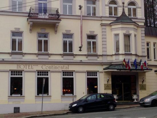 Hotel Continental: Hotel-Haupteingang