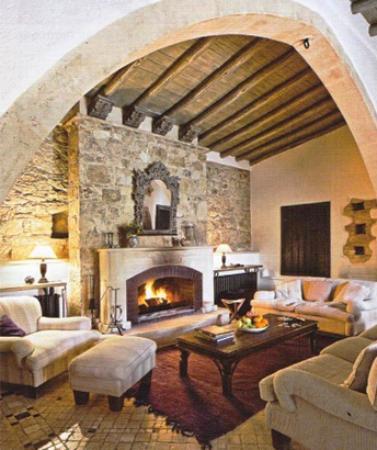 Lofou, Chipre: Archontiko living room