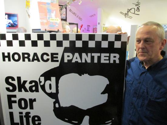 """Coventry, UK: Opening of """"On Bass, Sir Horace Gentleman"""" exhibition"""
