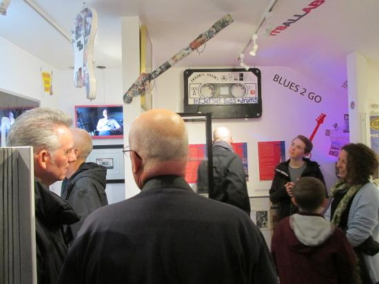 "Coventry, UK: Opening of ""On Bass, Sir Horace Gentleman"" exhibition"