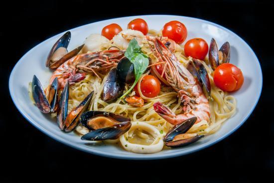 Casa Italia : linguine allo scoglio