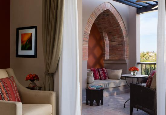 Four Seasons Resort Marrakech: Pavilion Room Terrace