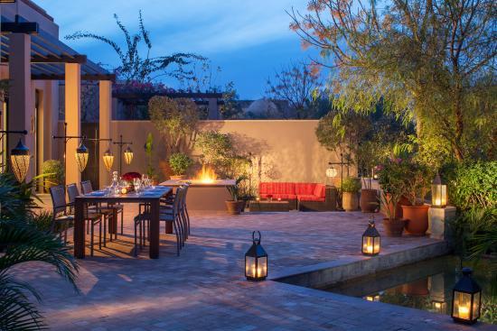 Four Seasons Resort Marrakech: Grand Pavilion Suite terrace