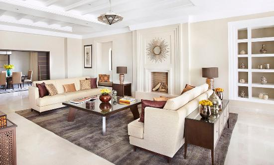 Four Seasons Resort Marrakech: Predidential Suite living and dining room