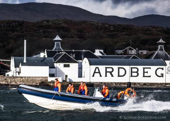 Islay Sea Adventures : Ardbeg from the sea