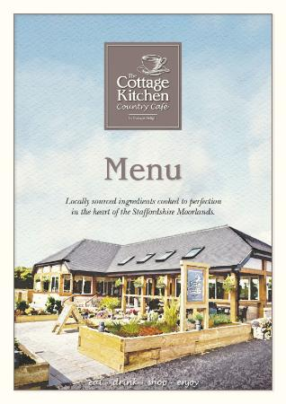 menu 2016 picture of the cottage kitchen country cafe winkhill rh tripadvisor co uk
