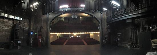 The Richmond Civic Theatre, from the actor's perspective.