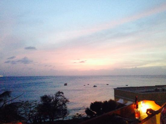 Beach View: View from the Sunset Bar
