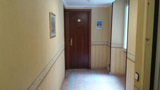 Hotel Ferrarese: Corridoio