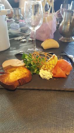 Entr e repas de noel picture of restaurant frantony 2 for Entree de repas