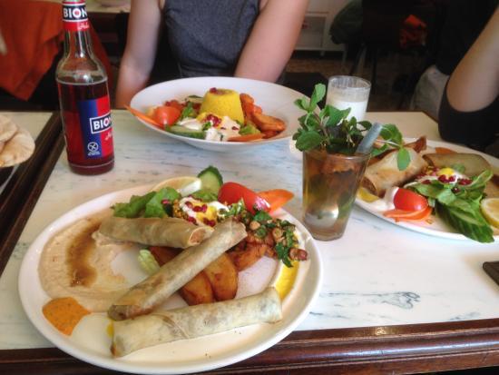 Minztee mit Eingelegter Salzzitrone - Picture of Yarok ...  |Damascus Food