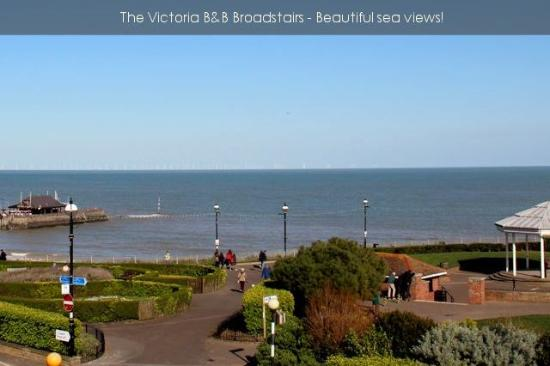 The Victoria: View from balcony
