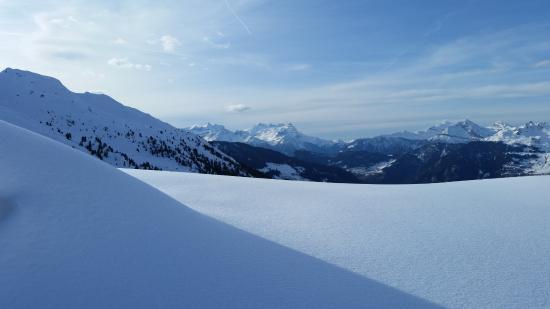 Lourtier, Suiza: Les Dents du Midi, vue du sud !!