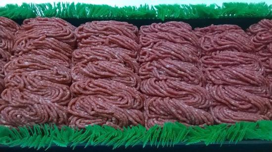 Villas, Nueva Jersey: 95% Fresly Ground Beef