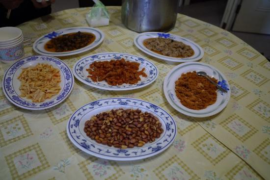 Lalashan Happy Farm: 簡便的早餐