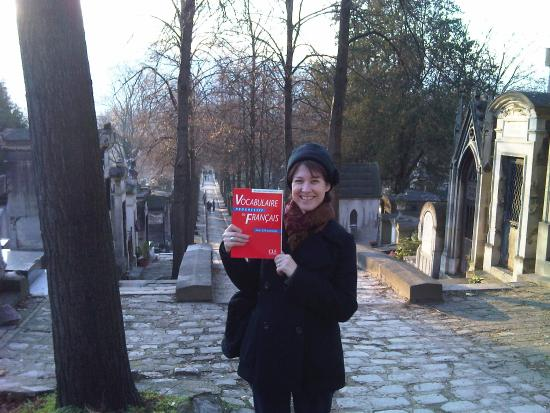French lessons out and about in Paris