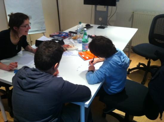 French lessons in our classrooms in Paris