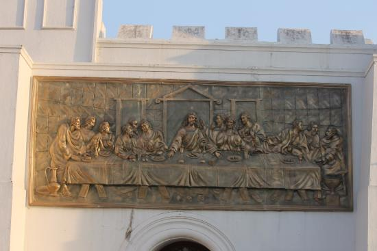 St. Thomas Mount National Shrine : last supper