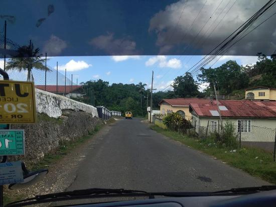 Jamaica Xplored: View from the front seat!