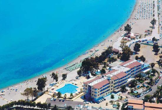 Marina di Mandatoriccio, Italy: DALL'ALTO