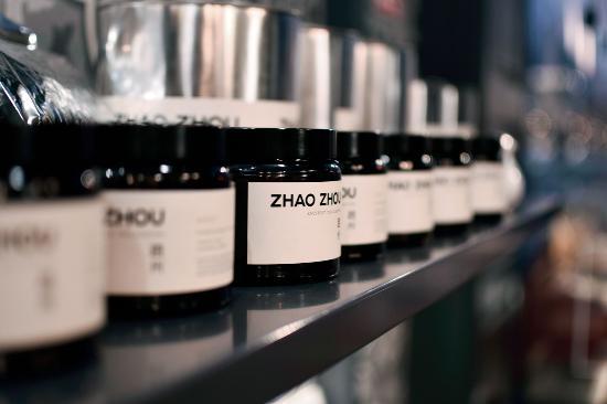 Zhao Zhou teakereskedés és műhely