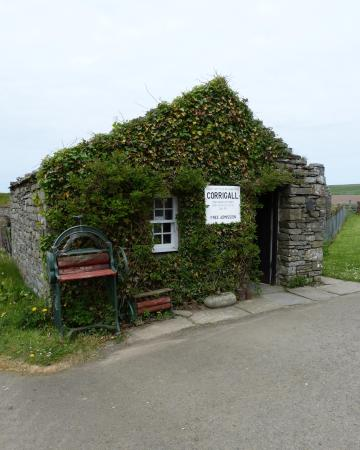Harray, UK: Entrance to Corrigall Farm Museum