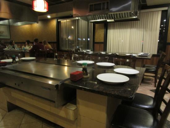Marvelous Sakura Home   Open Hibachi Tables