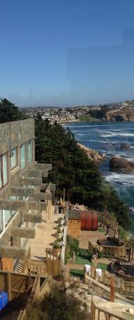 Quintero, Χιλή: Vista completa del exterior del spa