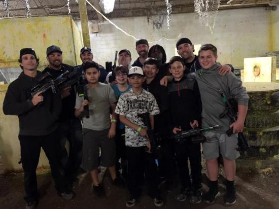 Battleground Orlando: The Paintball team!