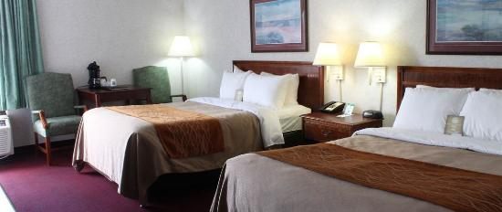 Comfort Inn Blacksburg : Guest Room 2 Double Beds