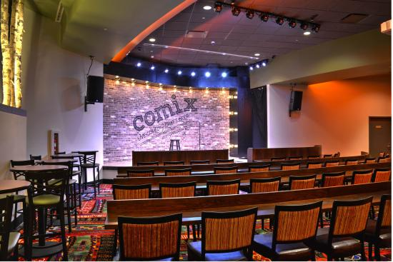 Comix Mohegan Sun: COMIX Stage - From Our VIP Seats