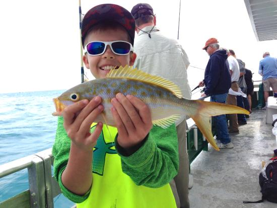 Marathon lady party boat fishing picture of marathon for Party boat fishing florida
