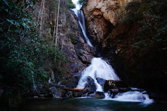 Rosman, Carolina del Norte: Sky Falls