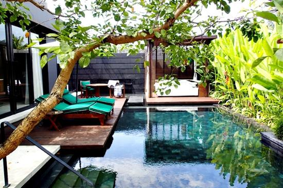 W Bali Seminyak One Bedroom Villa With Private Pool的私人戶外泳池