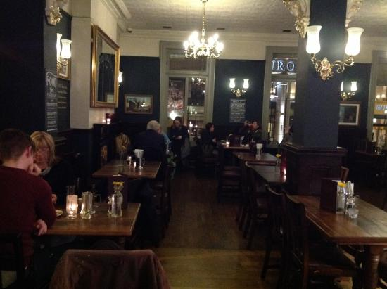 The Crown Liquor Saloon Dining Room Upstairs