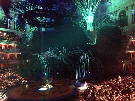 Spectacular Lighting Intended Quidam Cirque Du Soleil The Royal Albert Hall London England Spectacular Lighting Picture Of